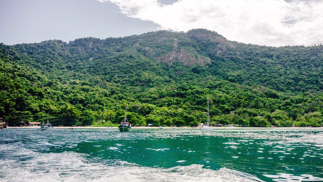 Tag 2 Ilha Grande: Bootsausflug zur Blauen Lagune