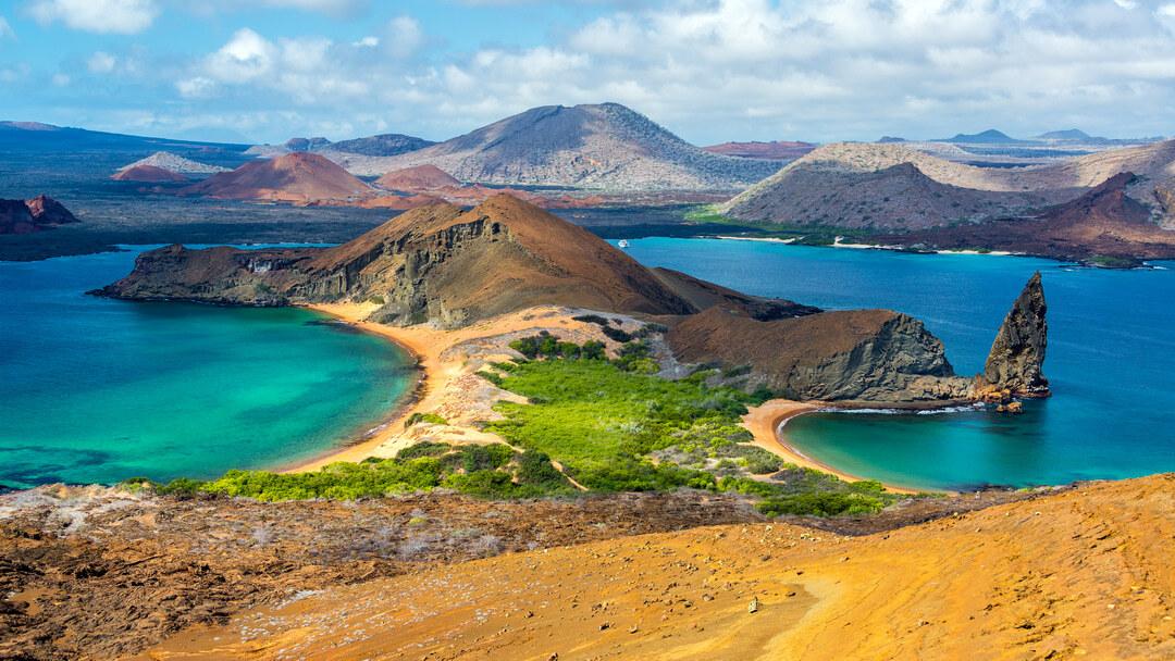 Tag 3: Insel Bartolomé und Insel Santiago