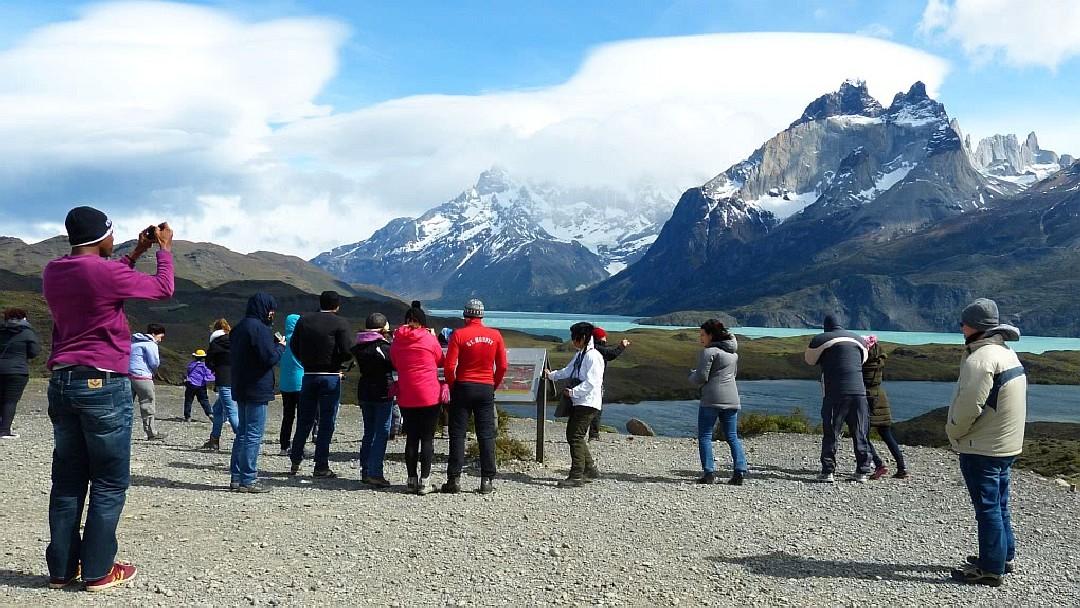 Tag 9 Puerto Natales-Paine Nationalpark: Besichtigung Paine NP