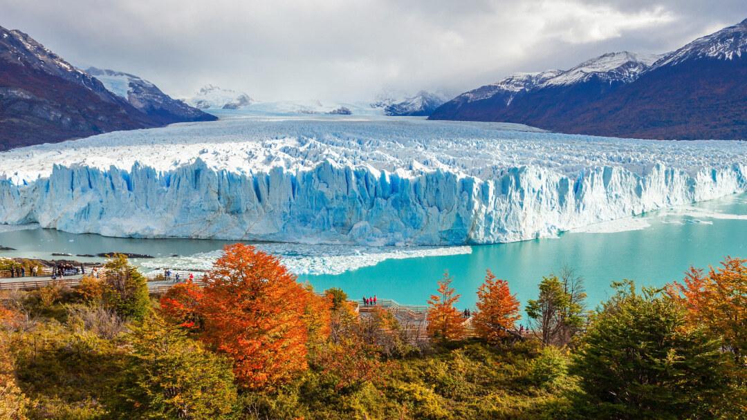 Tag 12 El Calafate: Tagestour zum Gletscher Perito Moreno
