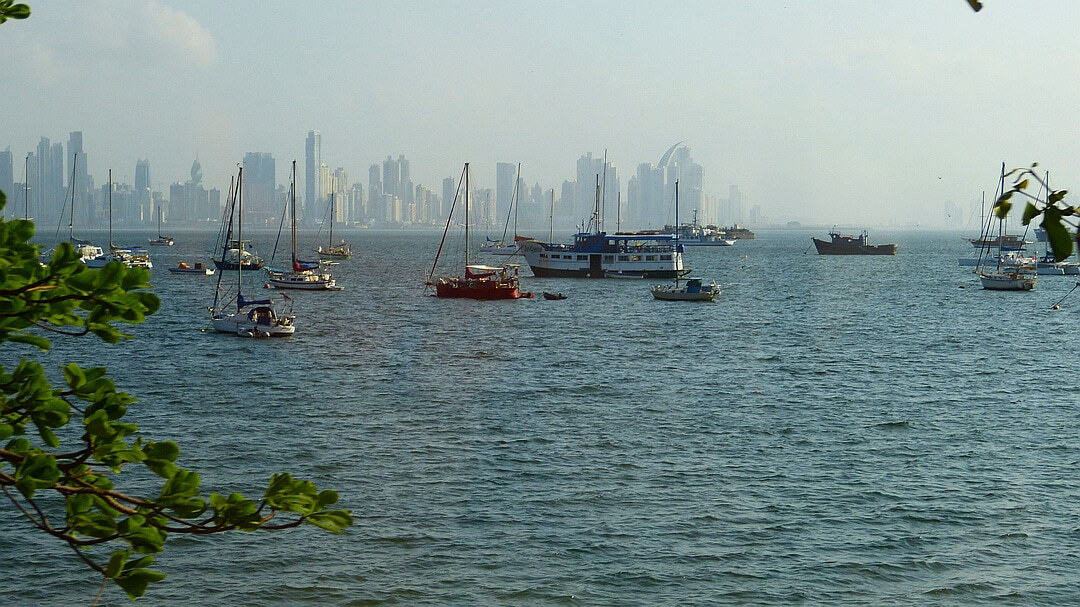 Tag 1 Panama Stadt: Anreise
