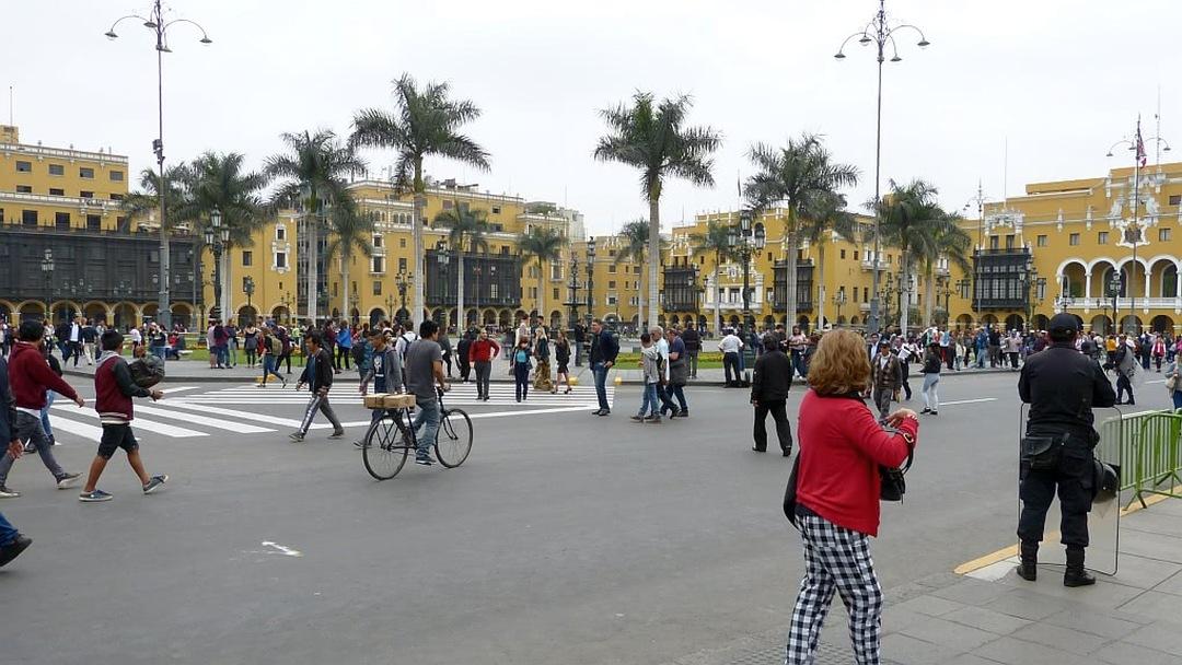 Tag 3 Lima: Stadtbesichtigung Lima