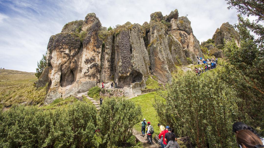 Tag 12 Cajamarca: Ausflug Otuzco, Cumbemayo und Baños del Inca