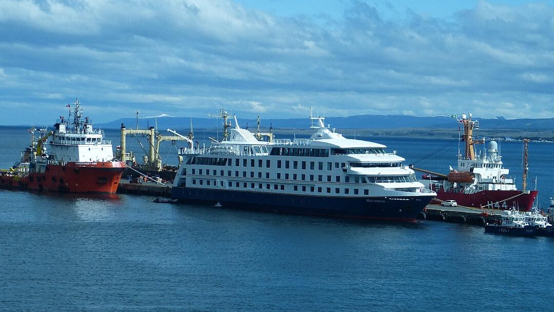 Tag 1 Abfahrt von Punta Arenas