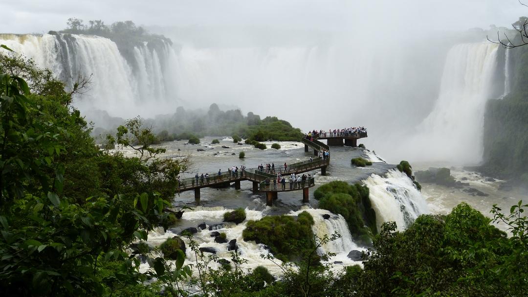 Tag 5 Puerto Iguazú: Besichtigung der Wasserfälle in Brasilien
