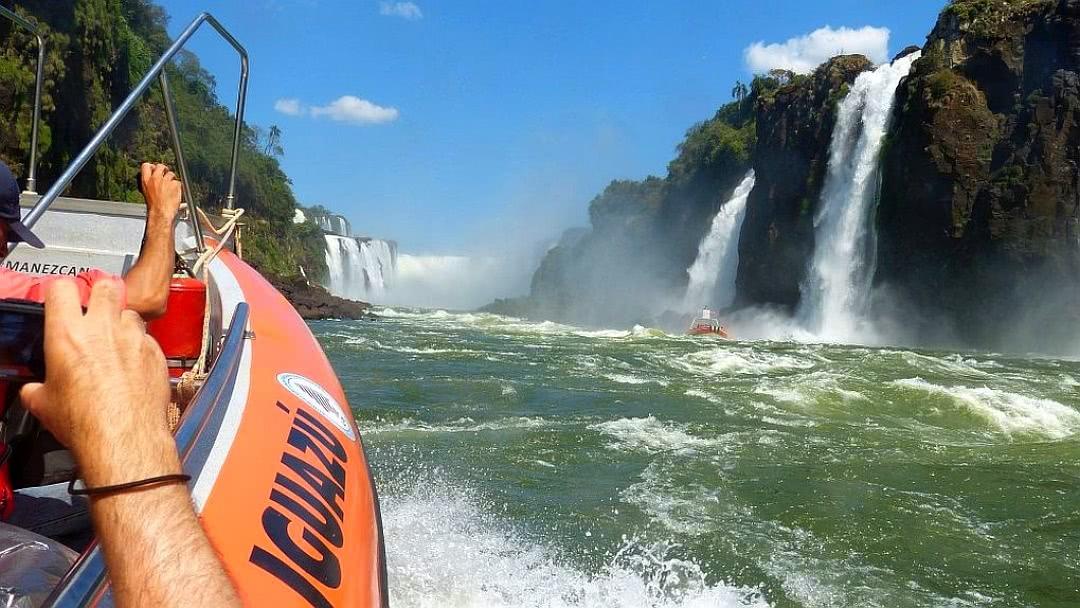 Tag 6 Puerto Iguazú: Besichtigung der Wasserfälle in Argentinien