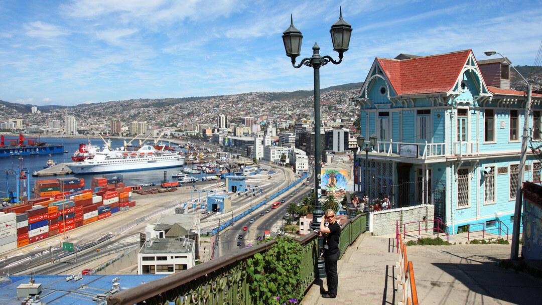 Tag 12 Santiago: Tagestour nach Valparaíso/Viña del Mar in Deutsch