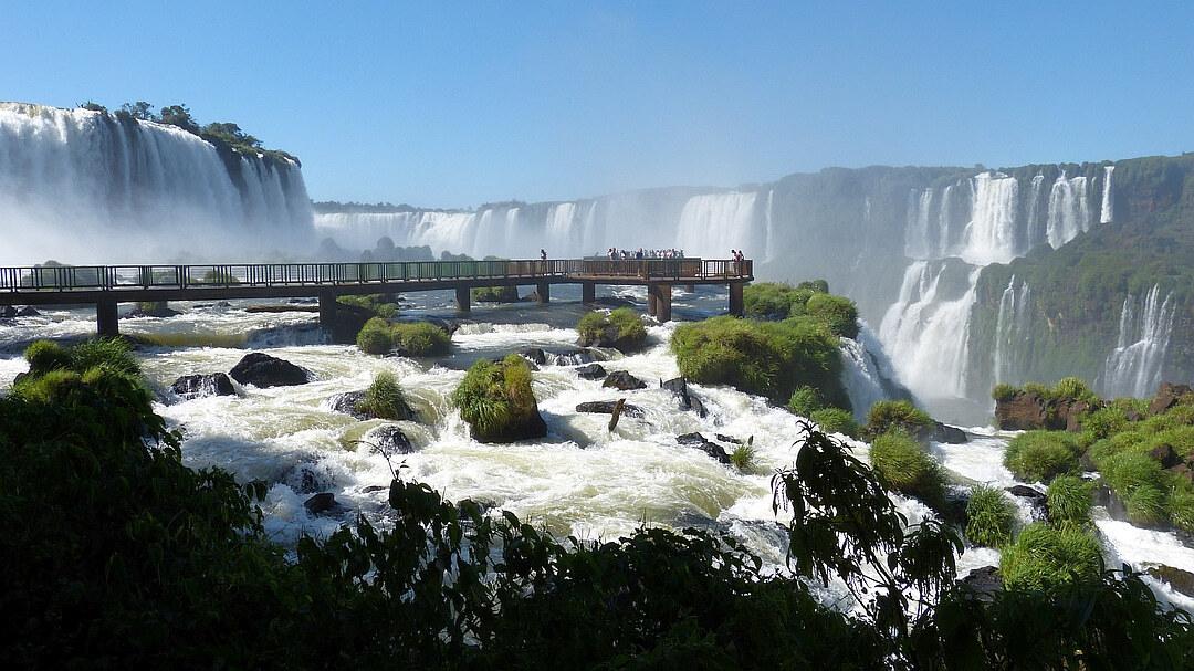 Tag 2 Puerto Iguazú: Besichtigung der Wasserfälle in Brasilien
