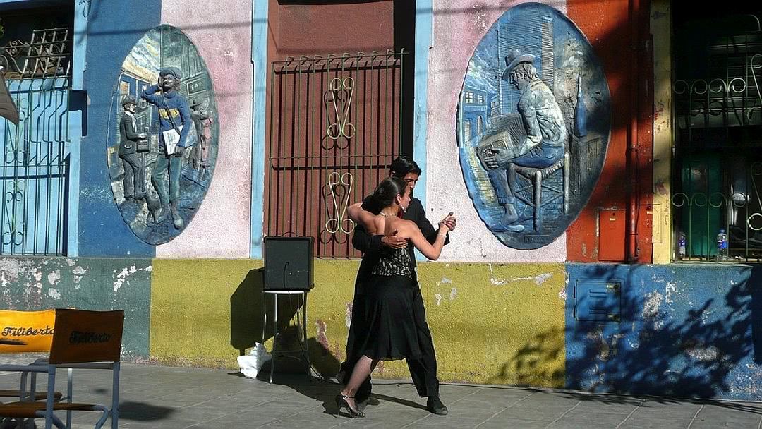Tag 3 Buenos Aires: Walking Tour, Tangokurs und Tangoshow