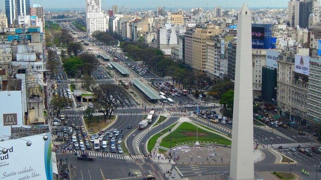 Tag 1: Flug nach Buenos Aires