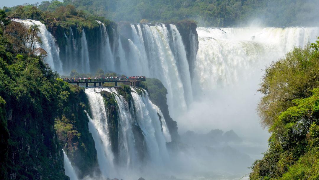 Tag 8 Iguazú-Wasserfälle Brasilien
