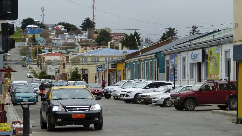 Tag 1 Punta Arenas-Puerto Natales: Empfang Mietwagen