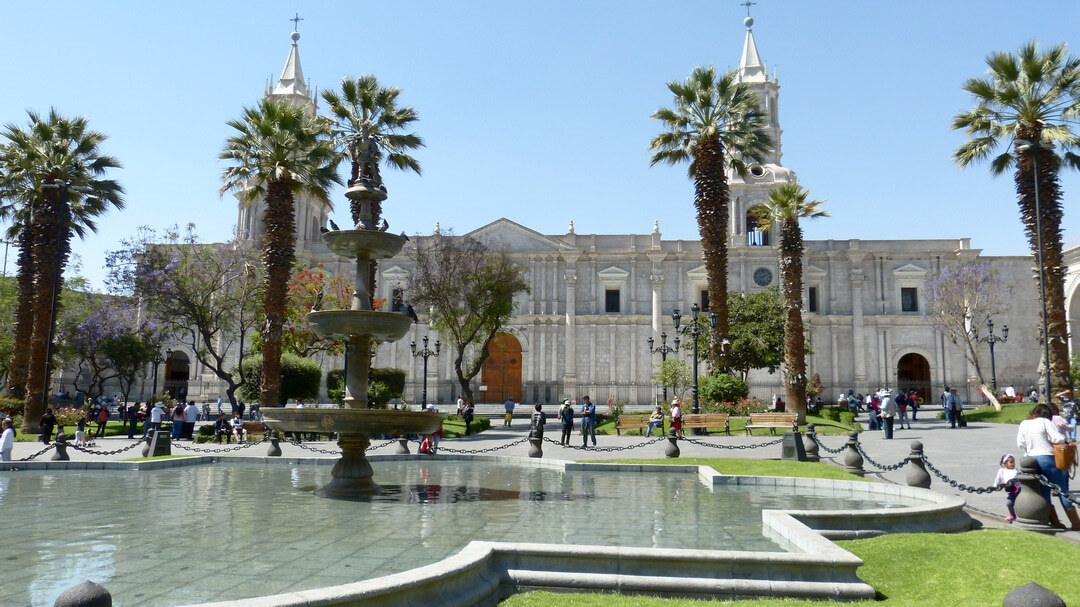 Tag 3 Lima-Arequipa: Stadtbesichtigung Arequipa