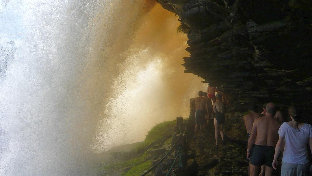 Tag 8 Puerto Ordaz-Canaima: Ausflug zur Laguna Canaima und Salto El Sapo