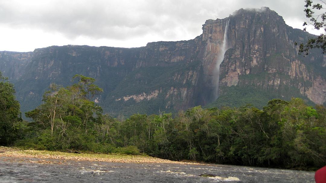 Tag 9 Canaima: Tagestour zum Salto Ángel