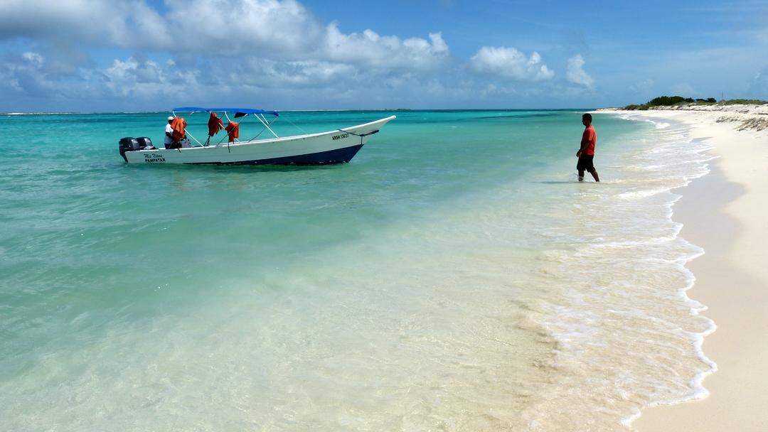 Tag 2 Gran Roque: Ausflug zur Isla Cayo de Agua
