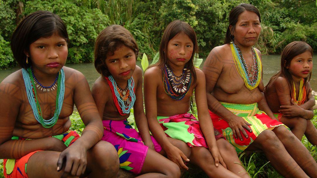 Tag 4 Panama Stadt: Besuch eines Emberá-Dorfes