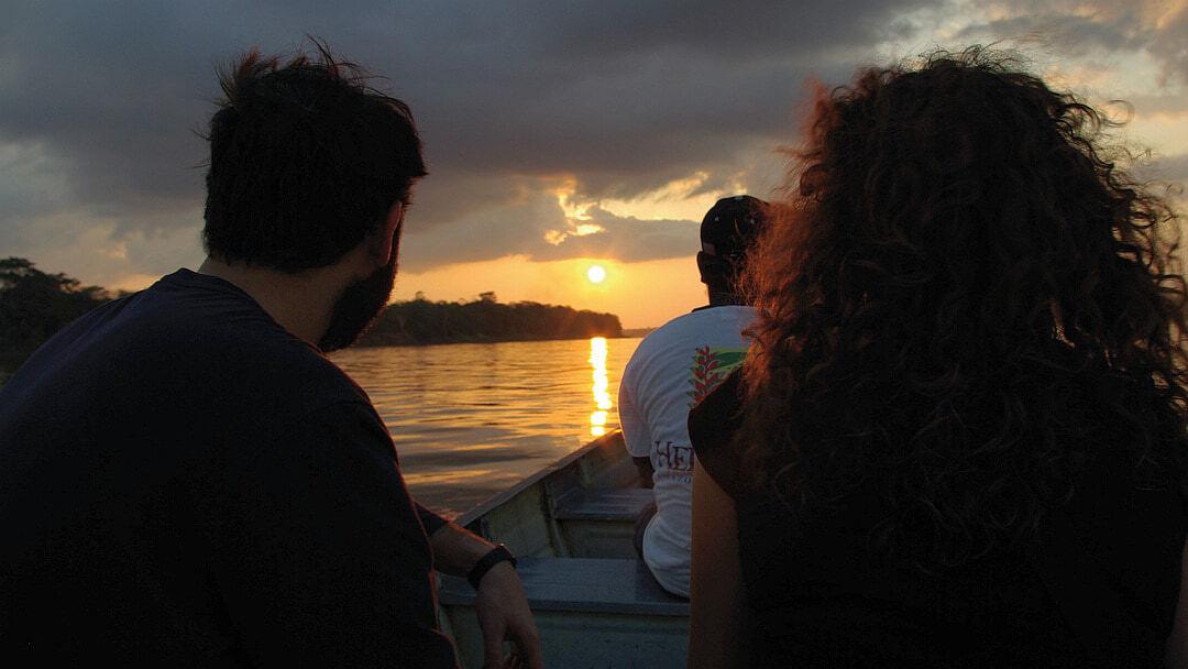 Tag 1 Iquitos: Ausflug ins Reservat Yanamono und Nachtbootsfahrt