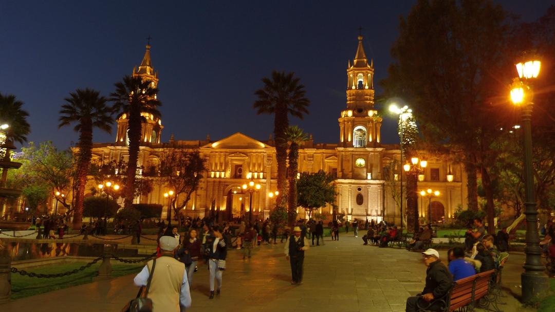 Tag 1 Arequipa: Anreise
