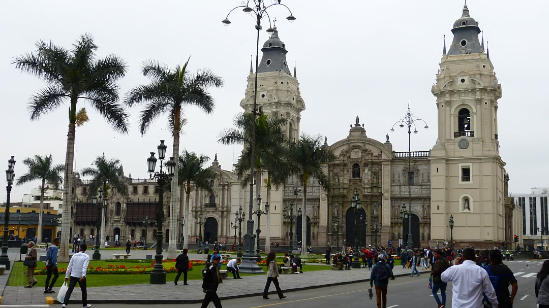 Tag 4 Lima-Huaraz: Stadtbesichtigung Lima