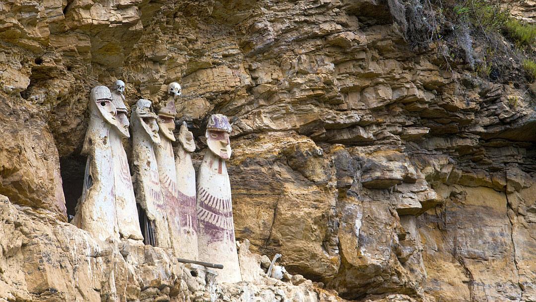 Tag 14 Chachapoyas: Tagestour zu den Sarkophagen von Karajía
