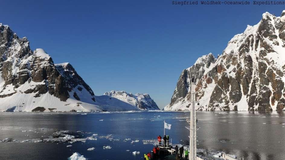 MS Plancius Antarktis Reise: Über den Polarkreis