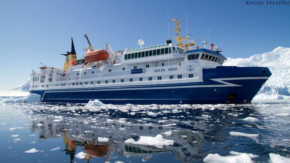 MS Ocean Nova Antarktis Reise: Klassische Antarktis