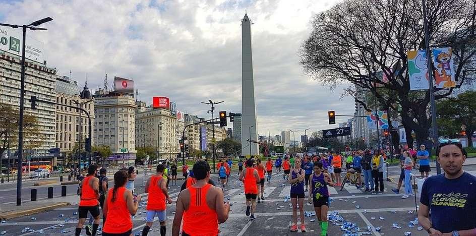Laufreise Buenos Aires Marathon 2019