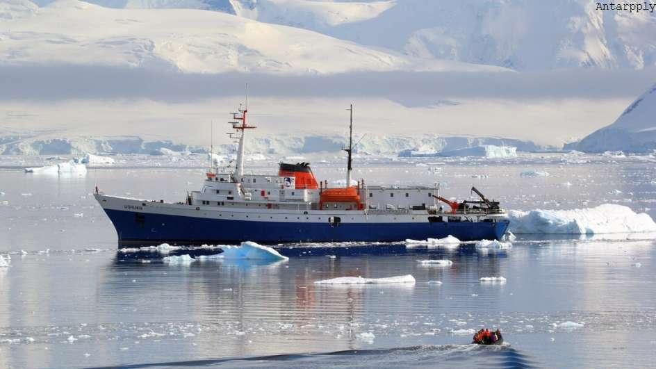 MS Ushuaia Antarktis Reise: Über den Polarkreis