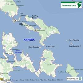 Reisekarte Karibische Lebensfreude auf Bocas del Toro
