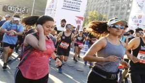 Laufreise Santiago de Chile Marathon 2020