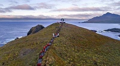 Schifffahrt Ushuaia-Punta Arenas (5 Tage)