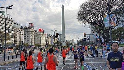 Laufreise Buenos Aires Marathon 2017