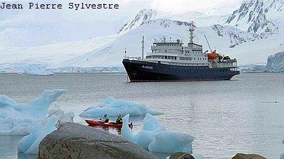 Bild MS Ushuaia Antarktis Reise: Über den Polarkreis