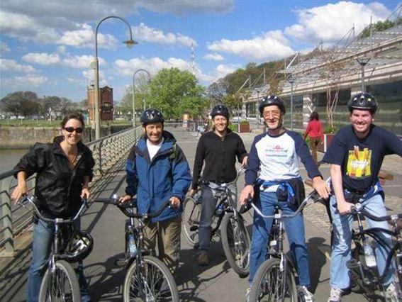 Stadtbesichtigung mit dem Fahrrad