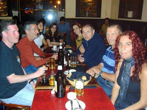 Kneipenbummel mit argentinischen Freunden