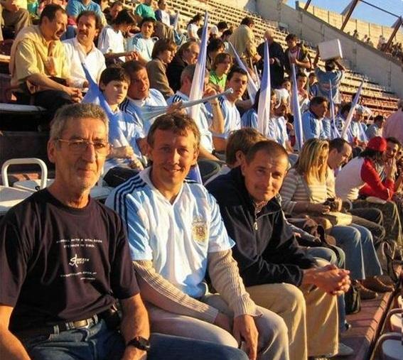 WM Qualifikationsspiel Argentinien- Peru