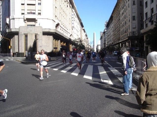 Zwischen 9 de Julio und Plaza de Mayo