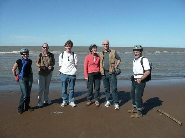 Am Rio de la Plata (Meli, Jens, Frank, Gudula, Theodor, Dieter)