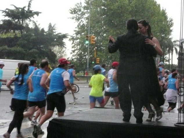 Tango und Marathon
