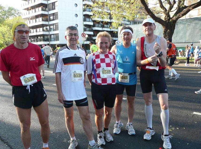 Team Reallatino Tours Buenos Aires Marathon 2010