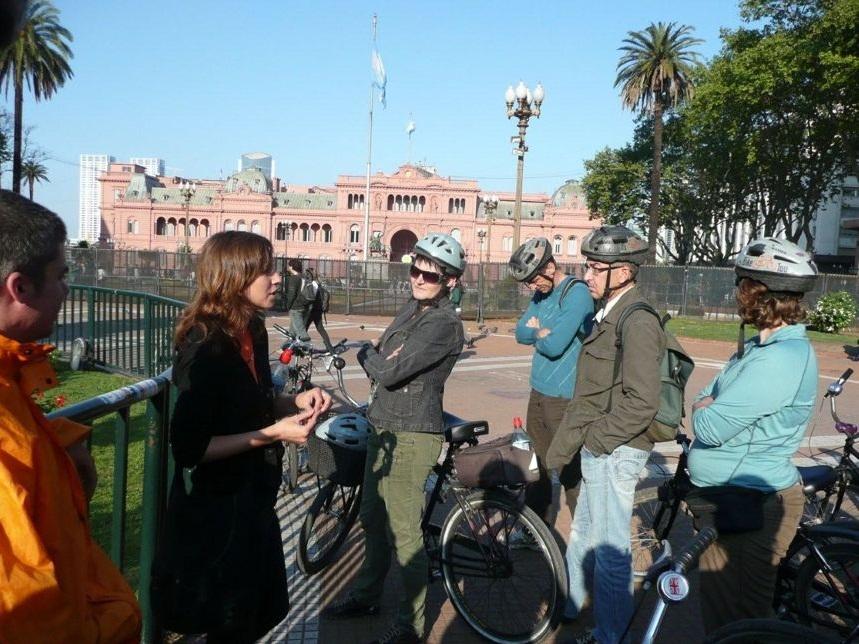 Auf der Plaza de Mayo
