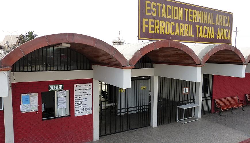 Bahnhof Arica-Tacna