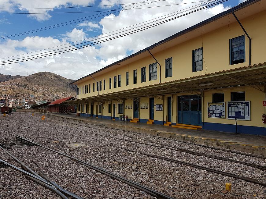 Bahnhof Wanchaq Cusco Peru