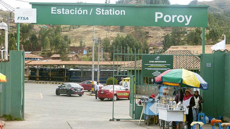 Bahnhof Poroy Peru