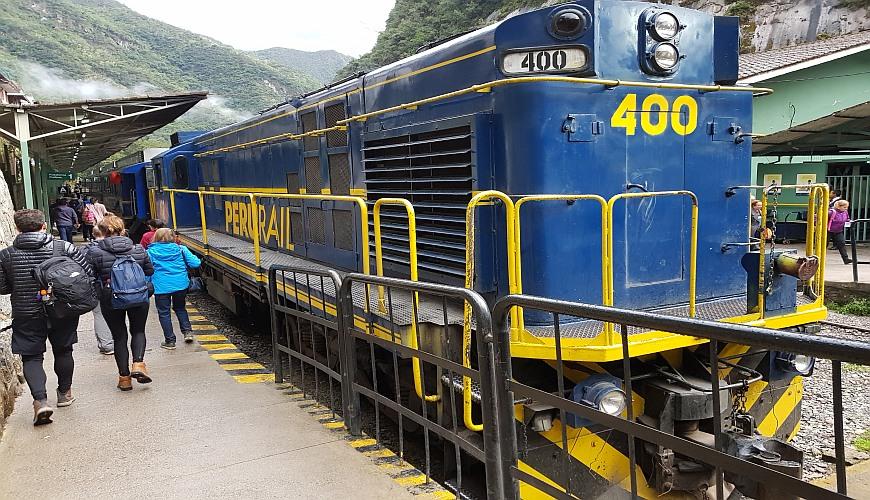Bahnhof Machu Picchu