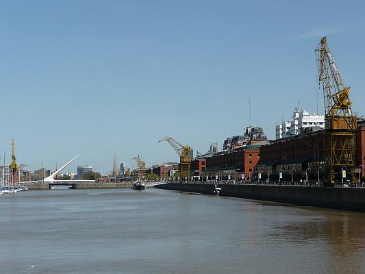 Hafen Puerto Madero, Buenos Aires, Argentinien