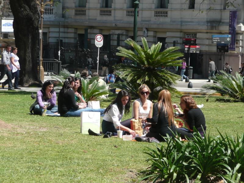 Plaza San Martín, Buenos Aires, Argentinien