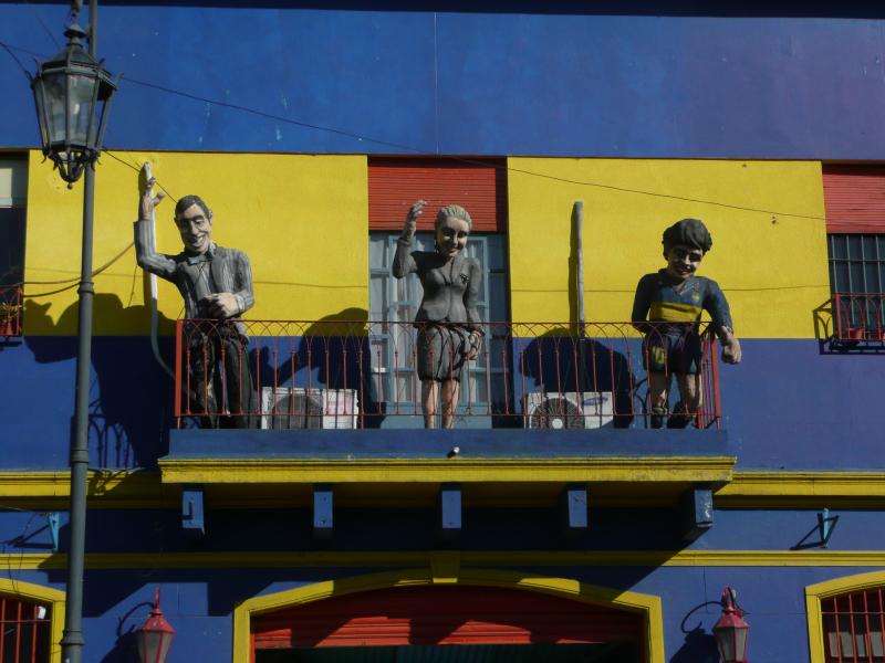 Künstlerviertel La Boca, Buenos Aires, Argentinien