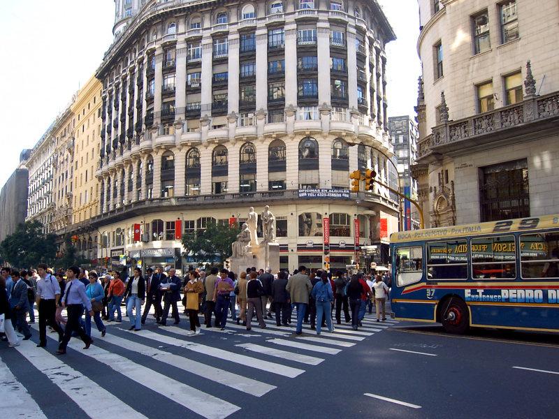 Innenstadt Buenos Aires, Argentinien